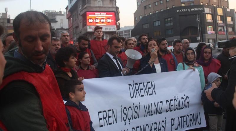 """Sendikalı Oldukları İçin İşten Çıkartılan Eren İşçileri; """"İşimizi Geri İstiyoruz"""""""